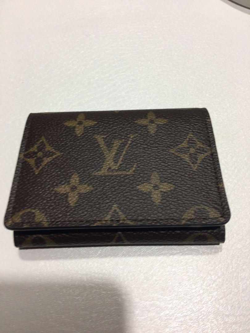 Lv louis vuitton authentic business card namecard holder luxury lv louis vuitton authentic business card namecard holder luxury bags wallets on carousell colourmoves
