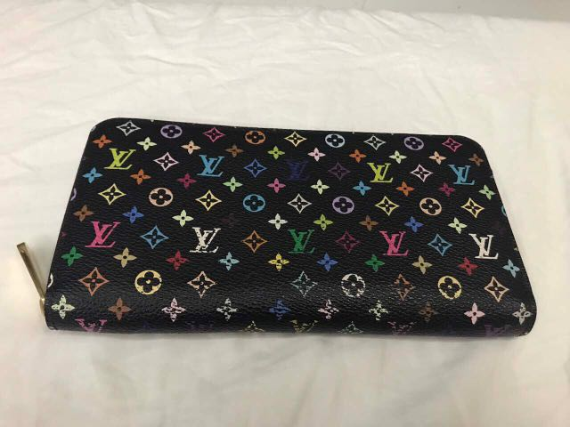 df2faf4f420 LV multicolore wallet, Luxury, Bags & Wallets on Carousell