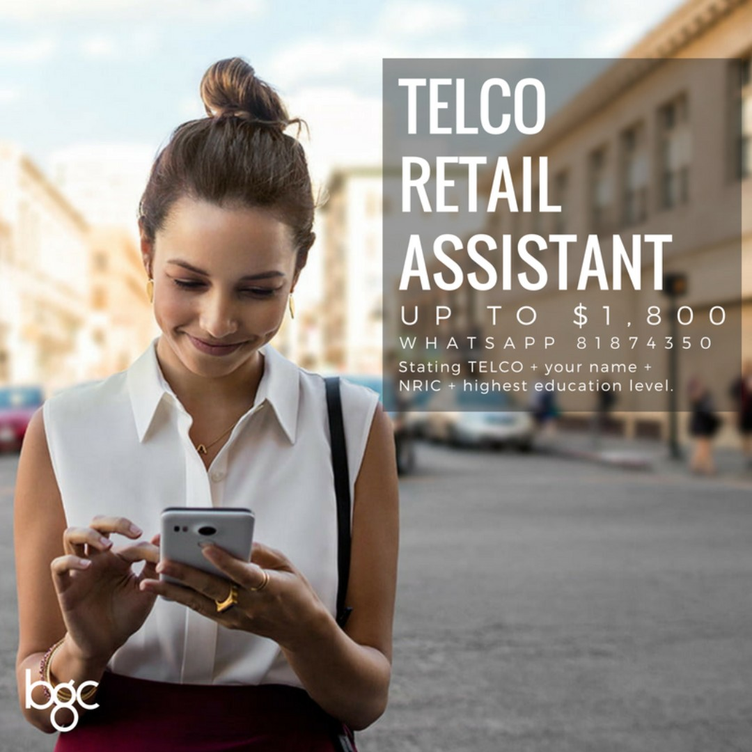 MOBILE SALES ASSISTANT (NO EXPERIENCE NEEDED)