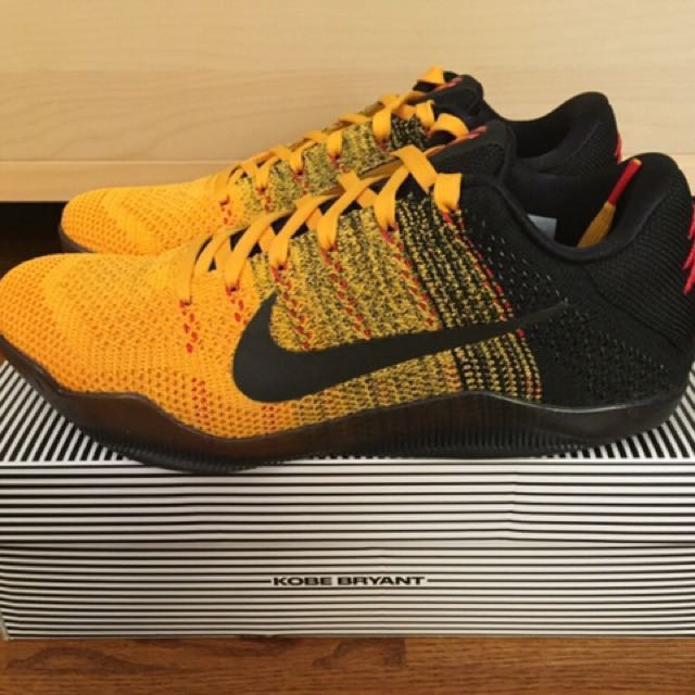 newest collection ccd12 2cd74 Nike Kobe XI Elite Low  Bruce Lee  size US9.5, Men s Fashion, Men s ...