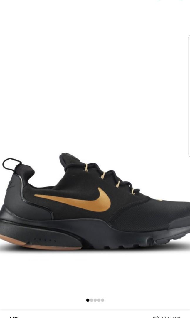 Nike Presto Fly Black Gold 477988b3d
