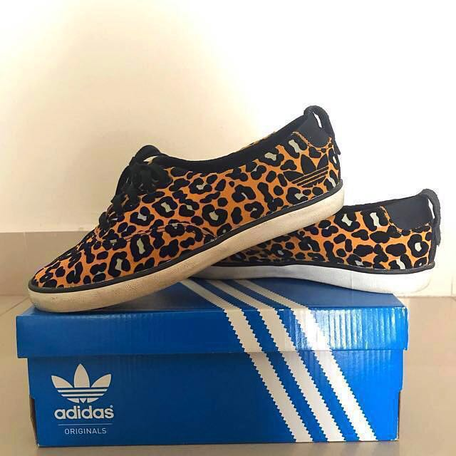 new style 27e3a 61209 Original Adidas Azurine Low w Leopard, Womens Fashion, Shoes on Carousell