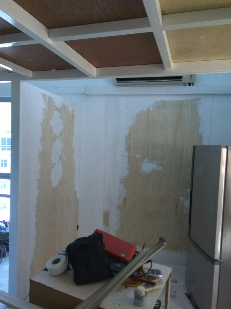 Partition N Wiring Services Home Renovations Di Carousell Lampu Pendaflour