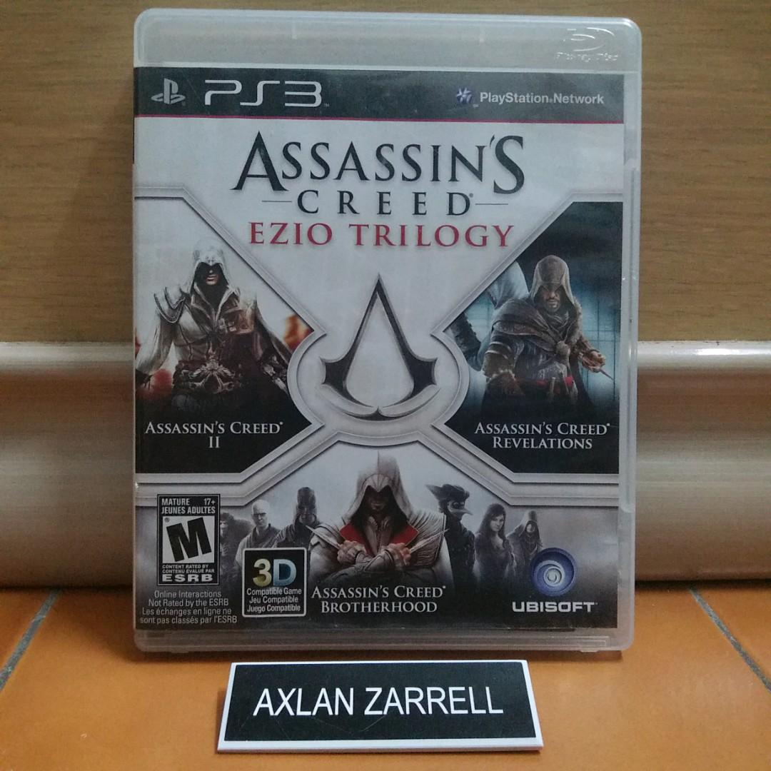 Assassins Creed: Ezio Trilogy - Playstation 3