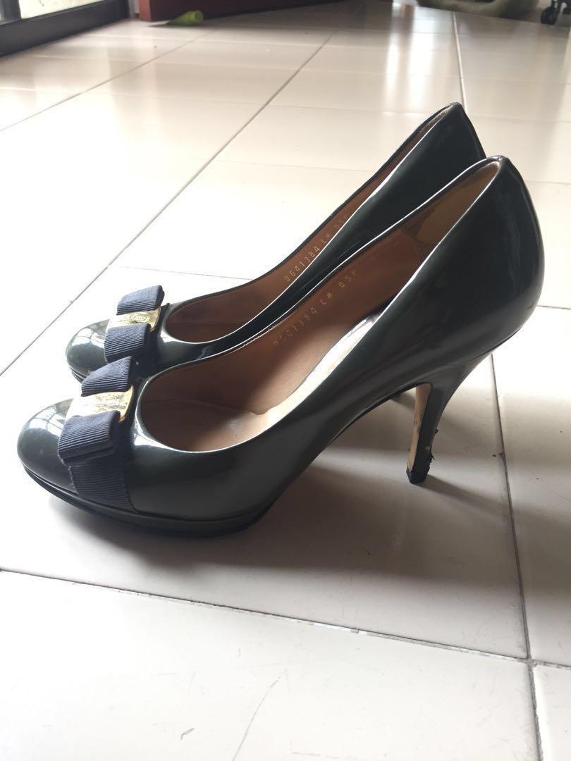 078f1606df Preloved Salvatore Ferragamo Pump Shoes, Women's Fashion, Shoes ...