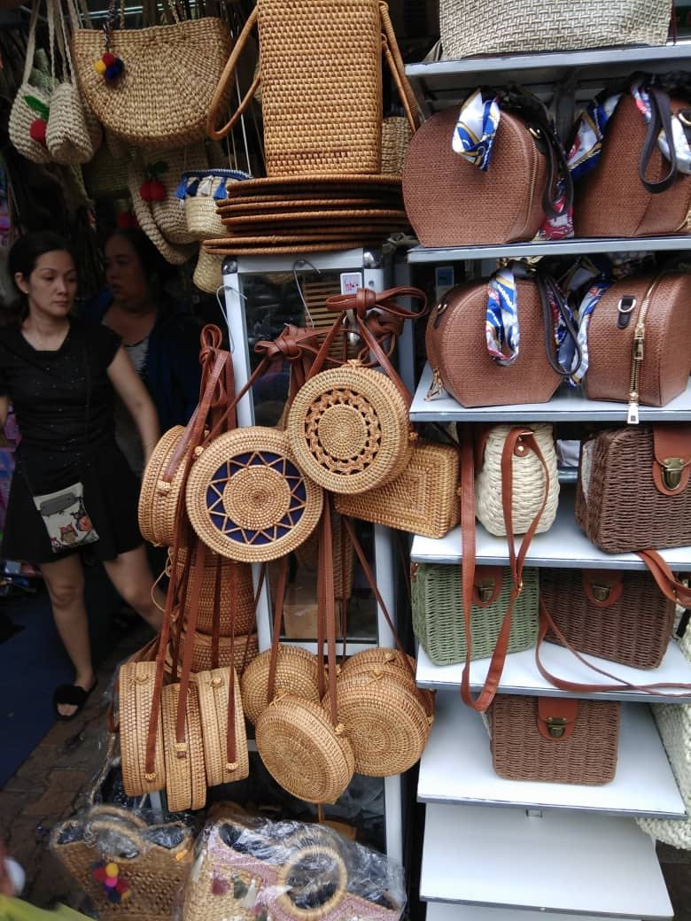 Rattan Bag Fesyen Wanita Beg Dan Duit Di Carousell Jamsuit Cewek Oleh Dari Bali Photo