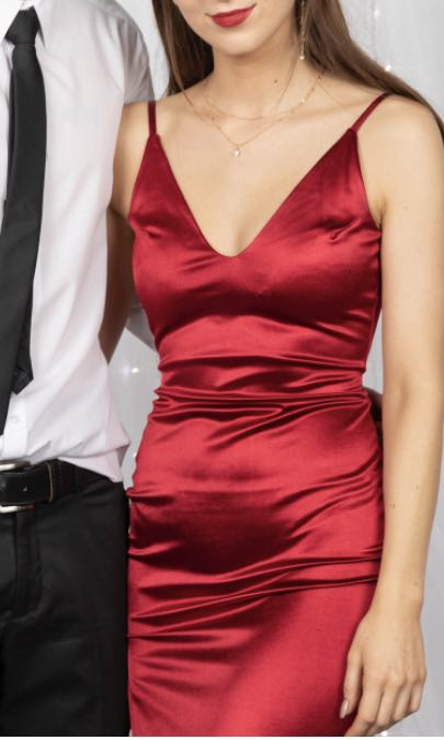 Red Ball Dress (for rent)