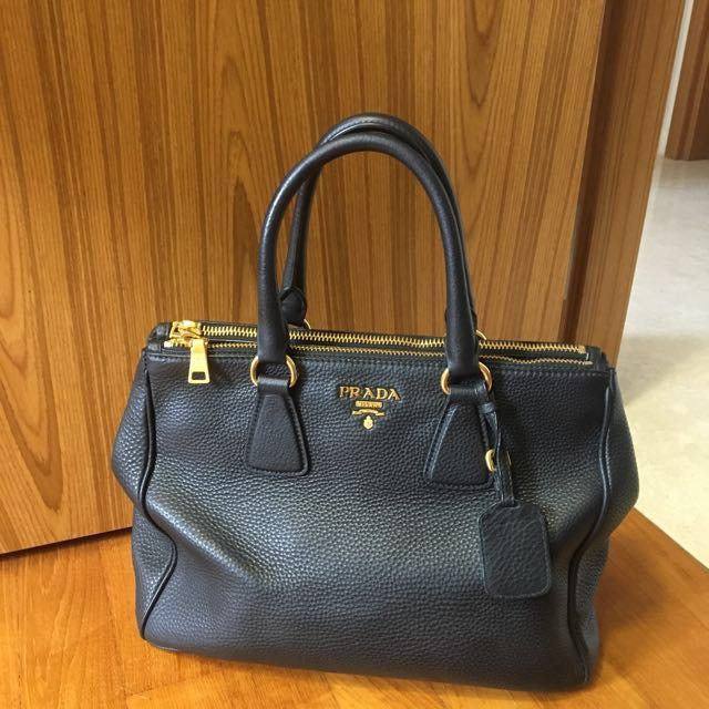 4a2401811619 ... best price reduced price prada bn2420 tote bag colour nero black luxury  bags wallets on carousell