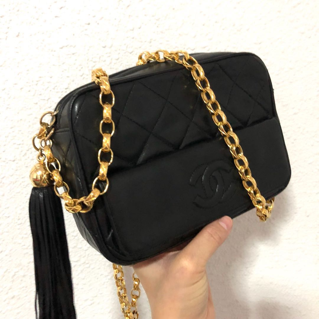 f236595b9841 RESERVED Authentic Chanel camera bag with Shiny Exclusive Bijoux ...