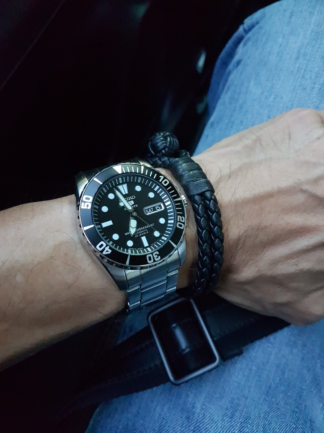 sale retailer 7ad3b 1402a Seiko 5 Sports SNZF17J1 Made In Japan Version., Men's ...