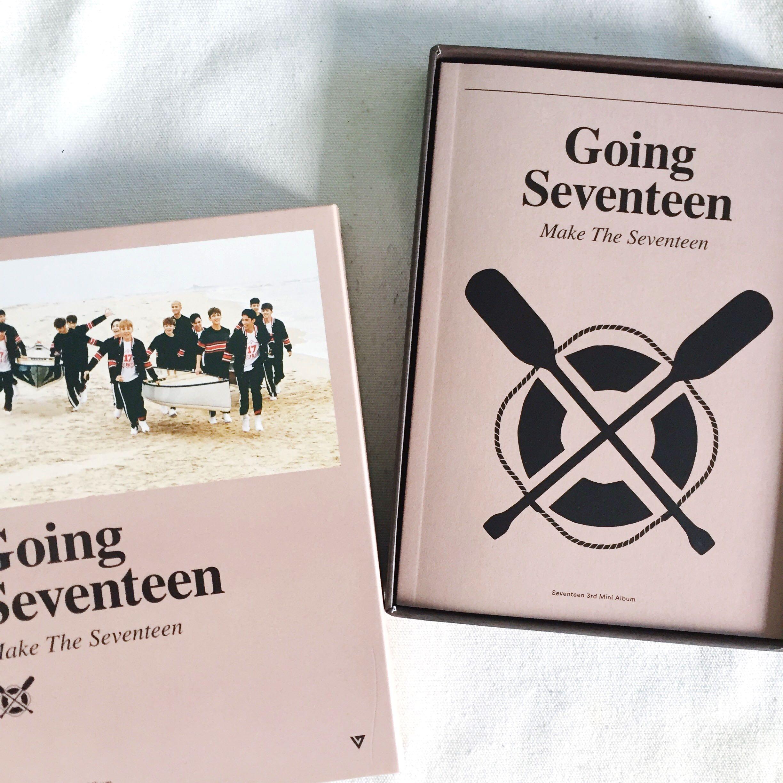 Seventeen Going Album Unsealed Entertainment K Wave On Mini 3th Carousell