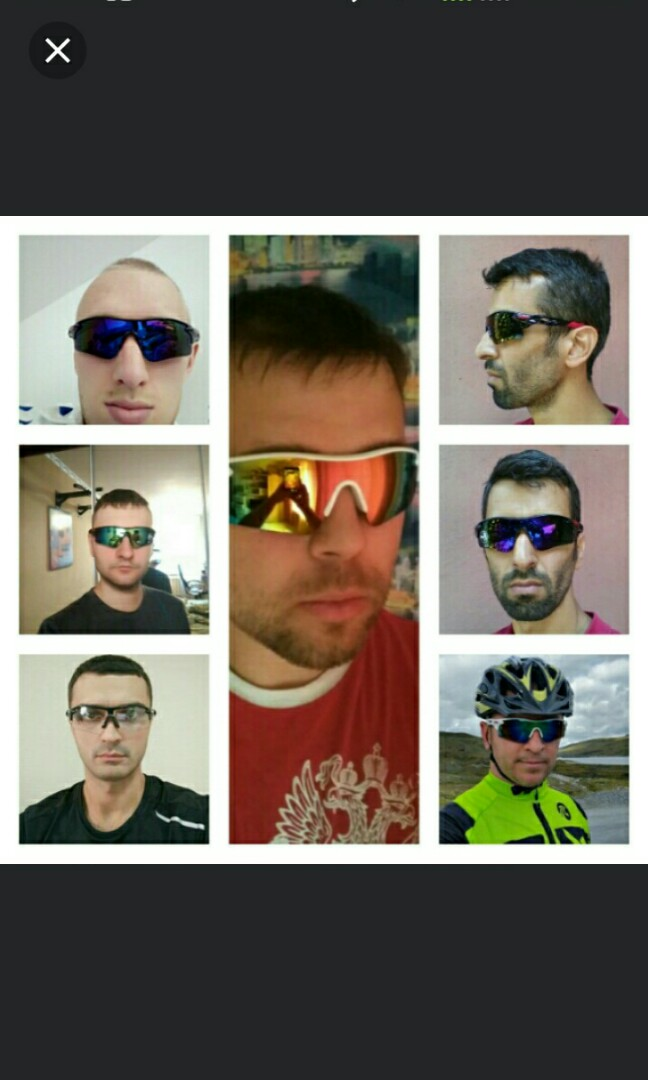 6b8abc376 🆕🆒Men Women Cycling Glasses Outdoor Sport Mountain Bike MTB Bicycle  Glasses Motorcycle Sunglasses Eyewear Oculos Ciclismo CG0501, Sports, Sports  Apparel ...