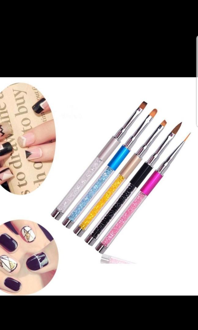 Uv Gel Pen Nail Art Brush Health Beauty Hand Foot Care On