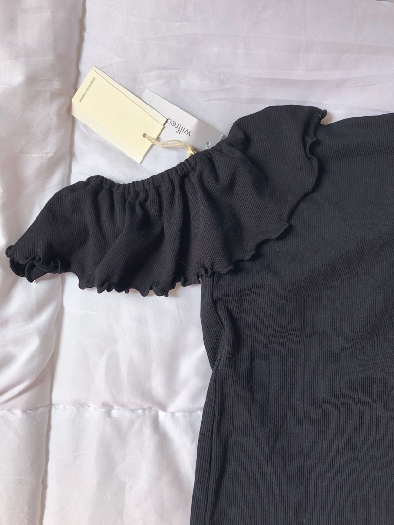 Wilfred bodysuit in black