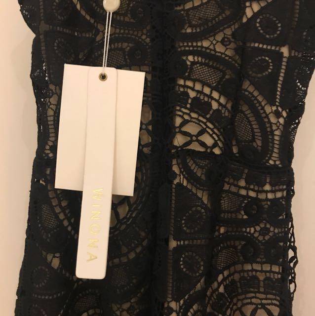 Winona Illusion Lace Jumpsuit