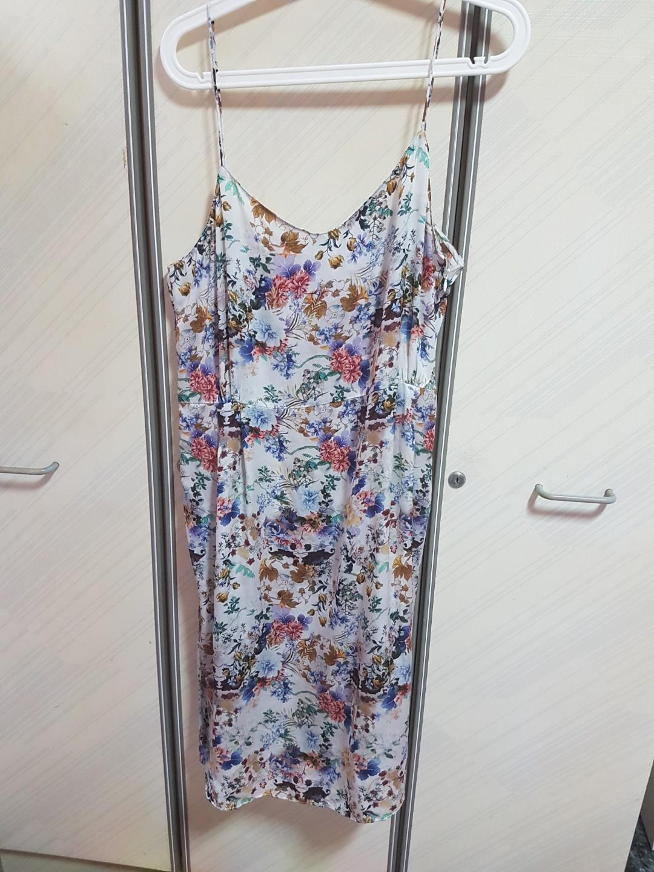 a7487ca5da8 Women s Floral White Zara Midi Dress on Poshmark