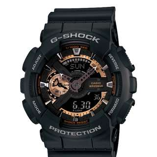 only hk$729, 100% newG-SHOCK Men's GA-110 Watch手錶,brand new and never been worn