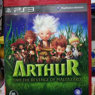 90% New PS3 Game ~ Arthur and the Revenge of Maltazard
