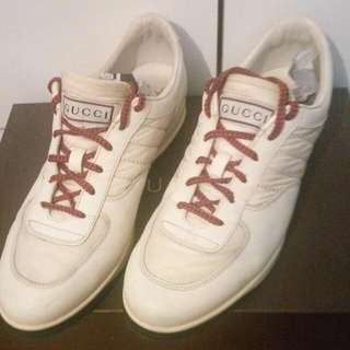 Authentic GUCCI Men's White Shoes #winkuih