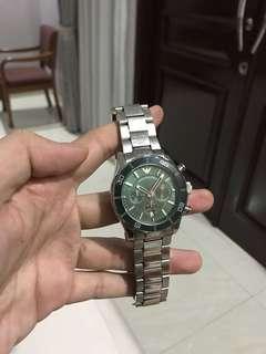 Dijual jam Emporio armani, masih mulus dengan harga 2000000, bisa nego