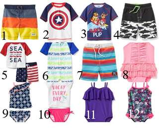 Carter's/OshKosh/OldNavy Baby Swimwear - New with tags!!!