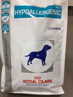 ROYAL CANIN VETERINARY DIET HYPOALLERGENIC DR 21 醫生處方狗糧