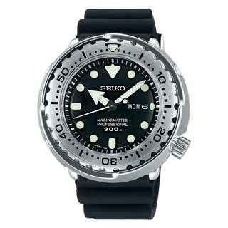 only hk$5220, 100% new MEN'S SEIKO PROSPEX MARINEMASTER 300m DIVER'S ANALOG QUARTZ WATCH SBBN033J1手錶