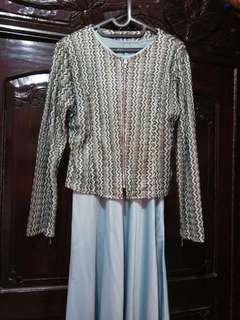 Baju gamis dan outernya