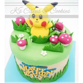 POCKET MON 3D CAKE