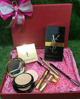 SALE PAKET MAKE UP YSL KOMPLIT