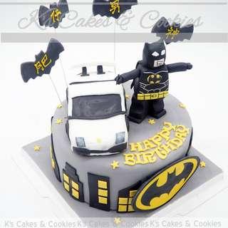 BATMAN 3D CAKE