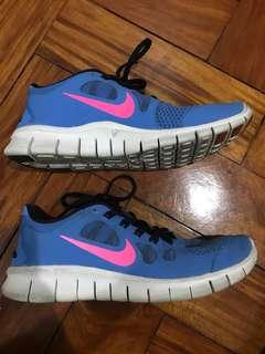 Nike Free 5.0 Blue/Pink