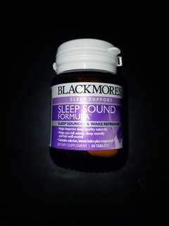Blackmores Sleep Sound Formula 30 Capsules