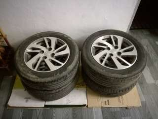 Myvi Sport Rim ONLY For SALE