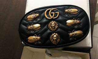 Gucci Marmont Bug belt bag