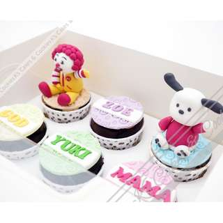3D CUP CAKE