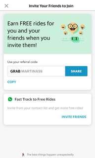 FREE Grab ride!