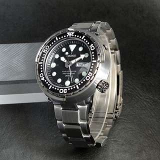 only hk$16199, 100% new SEIKO Diver SBBN015 Quartz Watch手錶