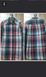 TOPSHOP boyfriend Checkers shirt