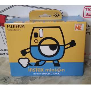 Fujifilm instax Minion mini 8 special pack