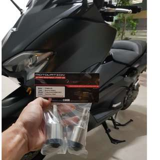 MOTOVATION HEAVY BAREND FOR YAMAHA TMAX 530 DX INSTALLED ON 7TH JUNE 2018