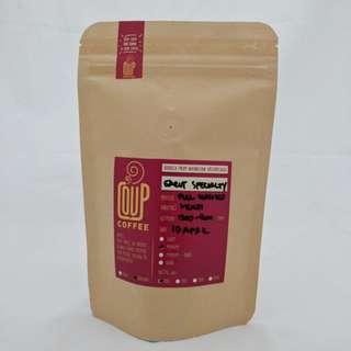 Kopi Bubuk Biji Green Bean Roasted Bean Garut Specialty 100 Gr