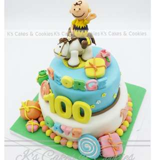 CHARLIE BROWN 3D CAKE