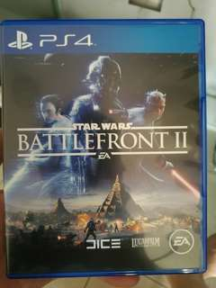Starwars Battlefront II ps4 bd