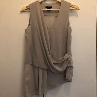 H&M Drapey Top (Size US 2)