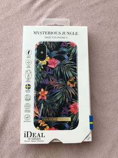 Ideal of Sweden iPhone X case, palm tree iPhone X case, flower floral iPhone X case