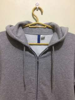 H&M DIVIDED GRAY HOODIE JACKET BRAND NEW