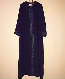 Gamis navy size L