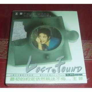 王菲(王靖雯) faye wong wang fei Lost & Found Cantonese, Mandarin 2 classic songs cds