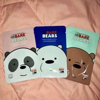 We Bare Bears Eye Mask - is backkk😍